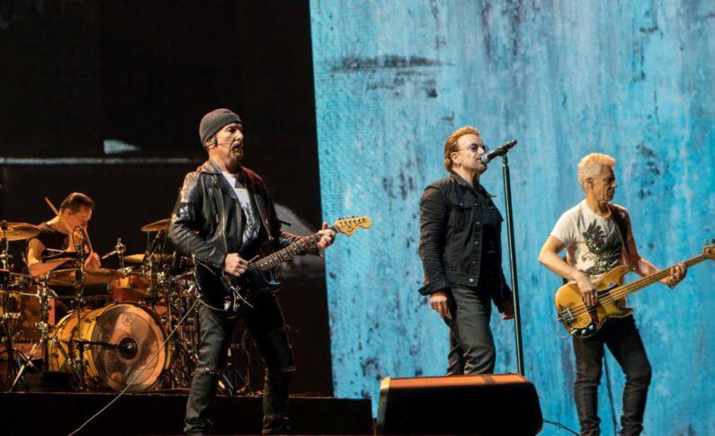 Zespół U2 wywołał trzęsienie ziemi - kiedyś to były koncerty!