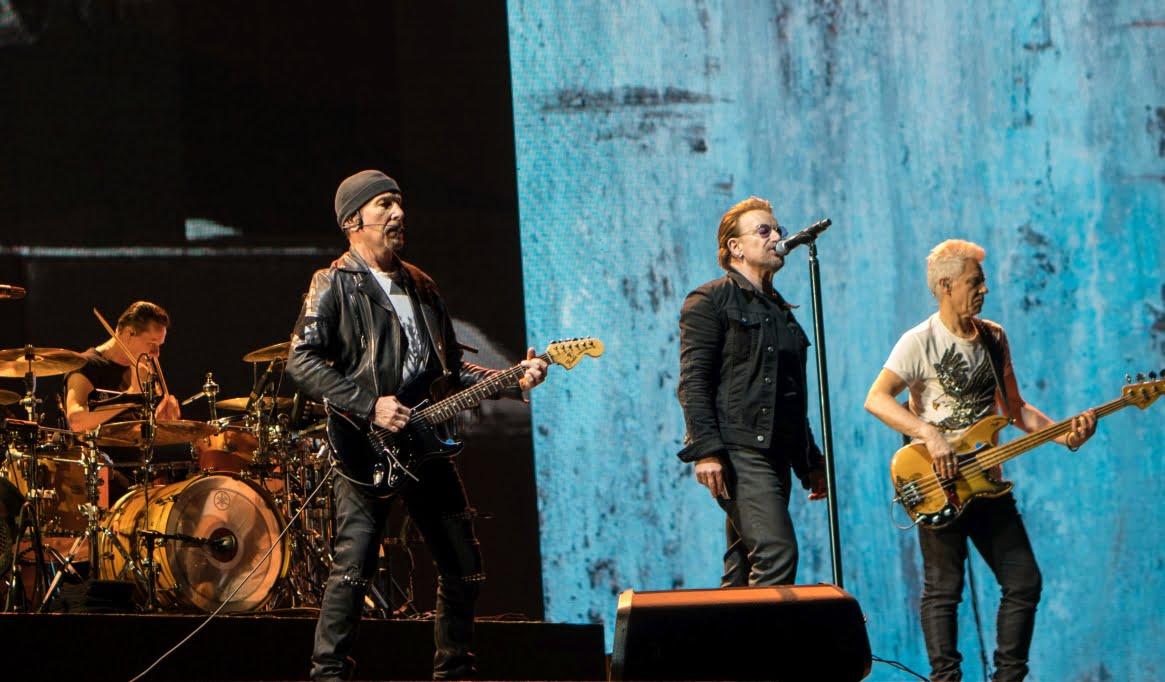 Zespół U2 wywołał trzęsienie ziemi – kiedyś to były koncerty!