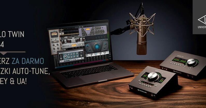 Universal Audio Apollo Twin/x4 – promocja
