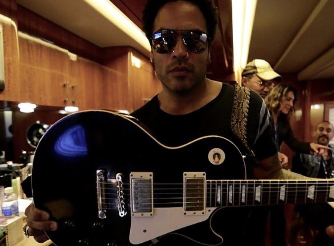 Lenny Kravitz – gitary, wzmacniacze, efekty