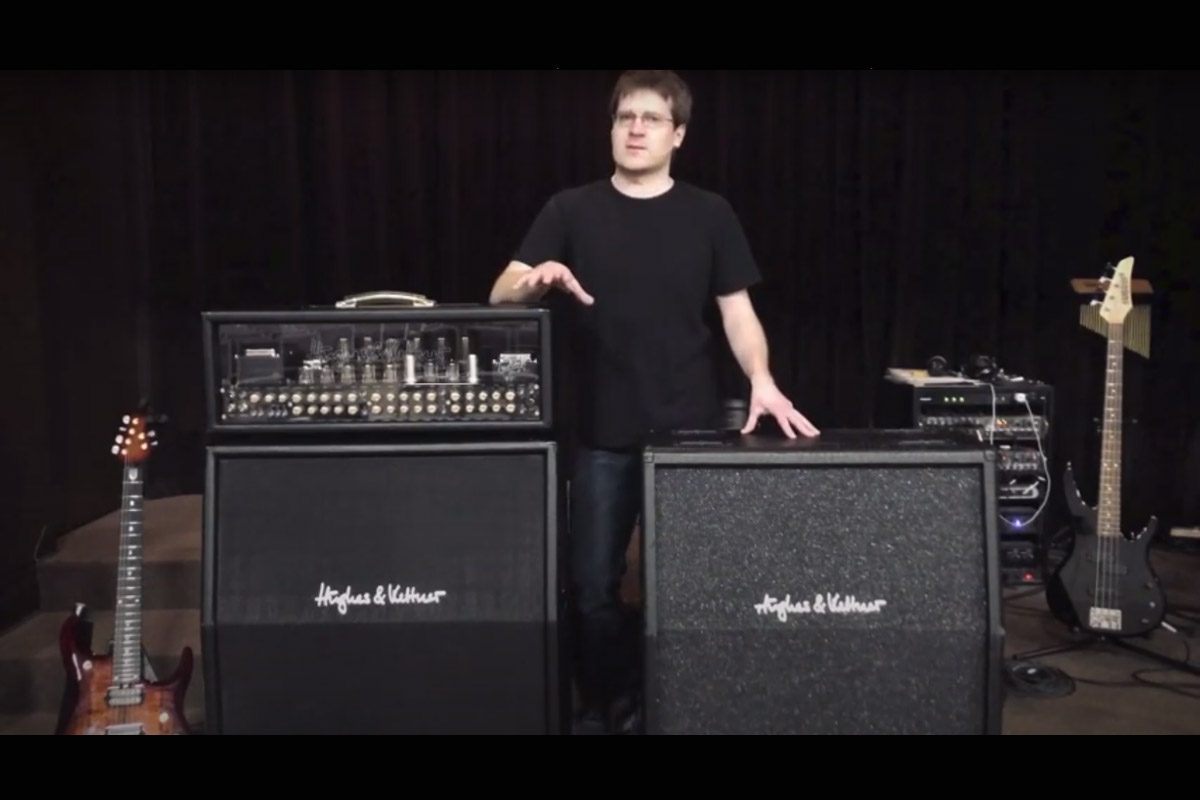 Hughes & Kettner TC 412 A60 vs CC 412 A30 – wideo