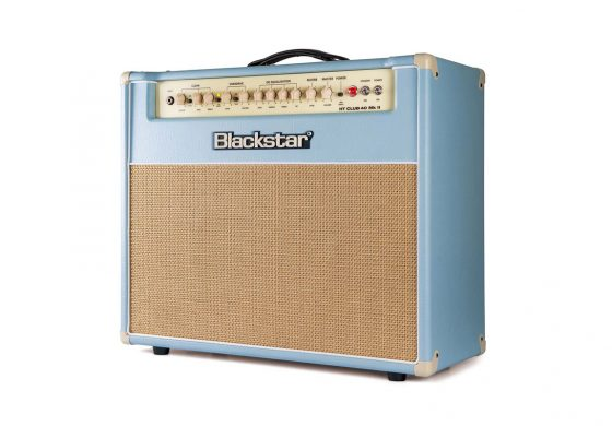 Blackstar HT Club 40 MkII Black & Blue Edition