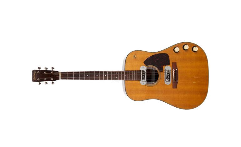 Gitara Kurta Cobaina sprzedana za 6 milionów dolarów