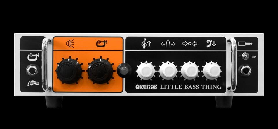 Orange Little Bass Thing i Bass Butler w Arcade Audio