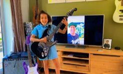Tom Morello podarował dziewczynce gitarę