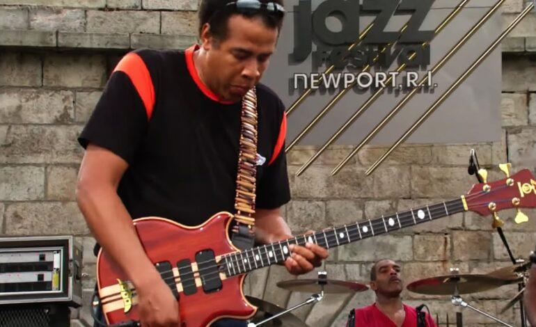 Stanley Clarke - koncert podczas Newport Jazz Festival
