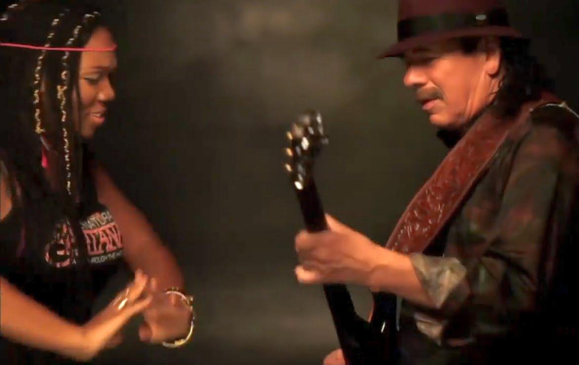 "Carlos Santana – ""While My Guitar Gently Weeps"""