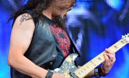 "Michael ""Whip"" Wilton i jego gitara ESP LTD"