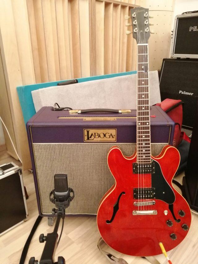 Laboga Diamond i Gibson ES 335