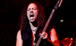 Kirk Hammett - dobry duch zespołu Metallica