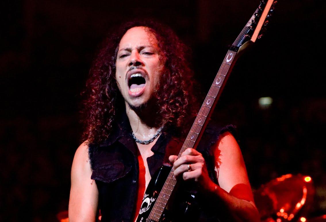 Kirk Hammett – dobry duch zespołu Metallica