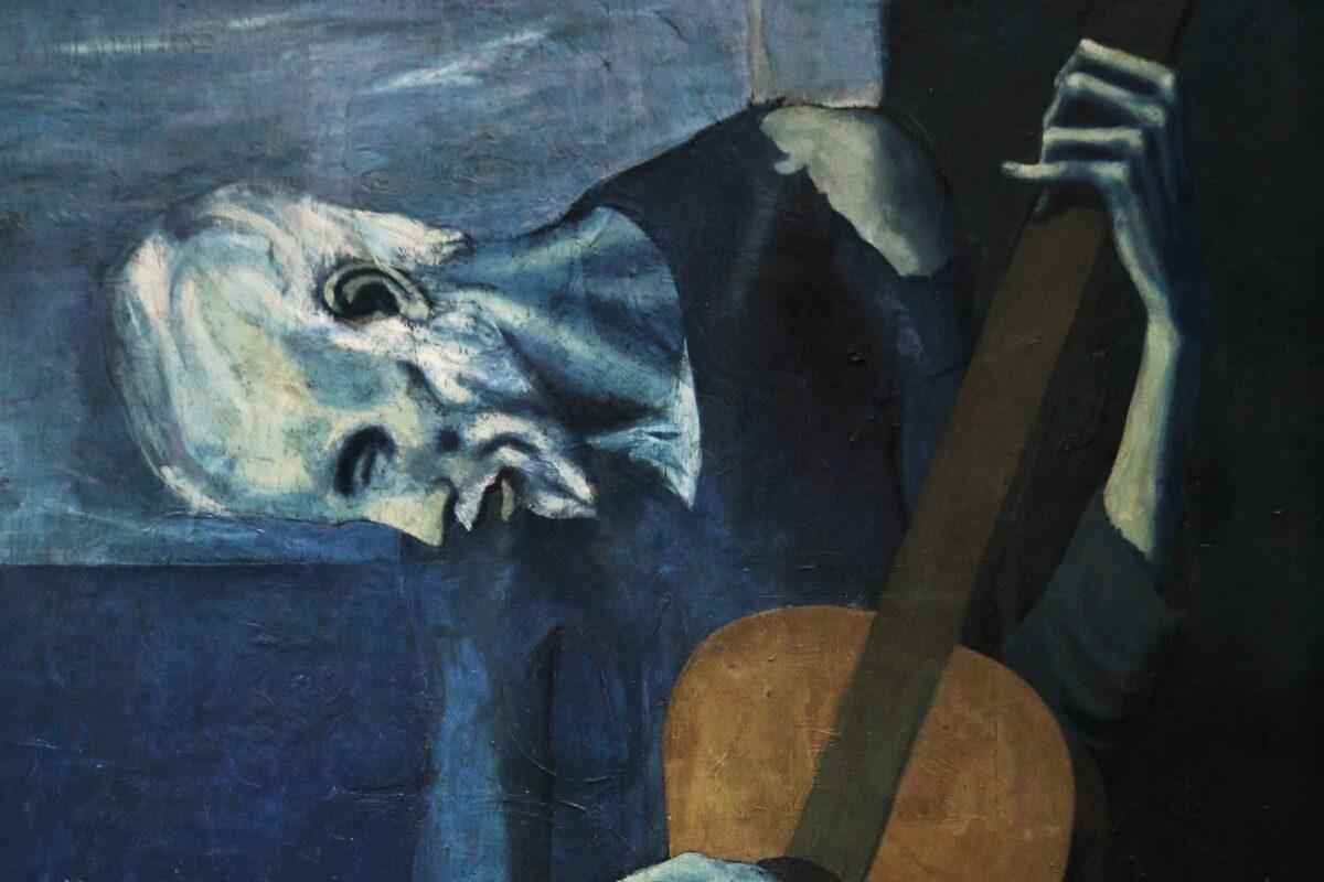 Stary gitarzysta – Pablo Picasso i jego najbardziej gitarowy obraz