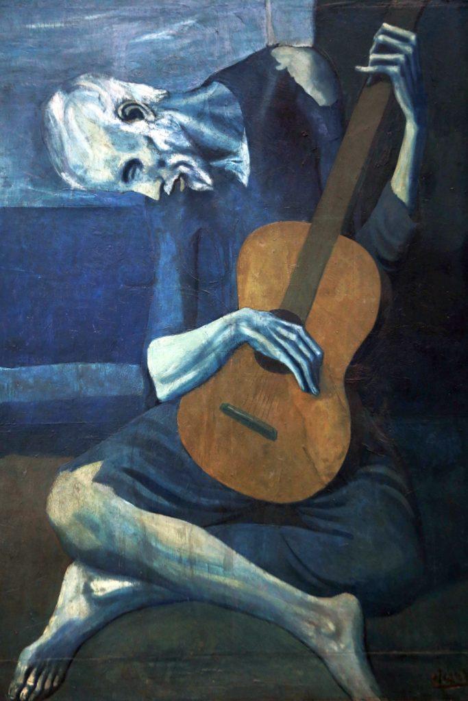 """Pablo Picasso """"Stary gitarzysta"""""""