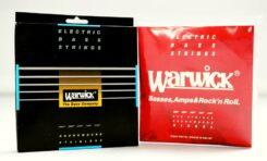 Struny Warwick Red ML i Warwick Black ML - recenzja