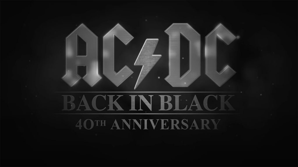 ACDC Back in Black 40th Anniversary