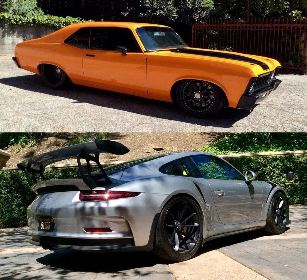 Chevrolet & Porsche