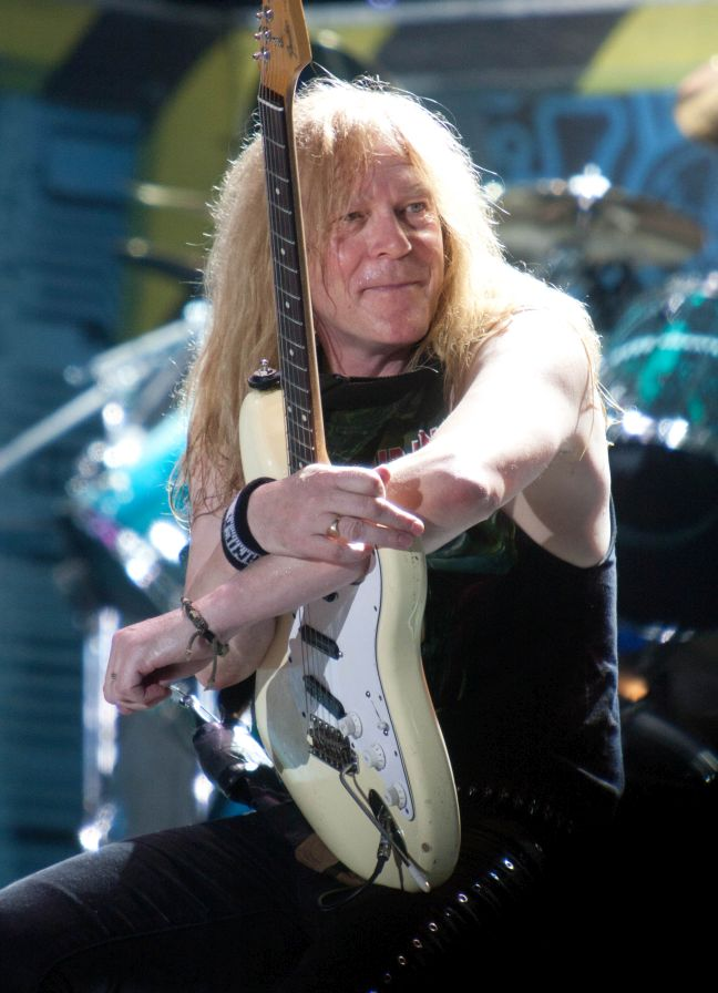 Janick Gers at Bluesfest