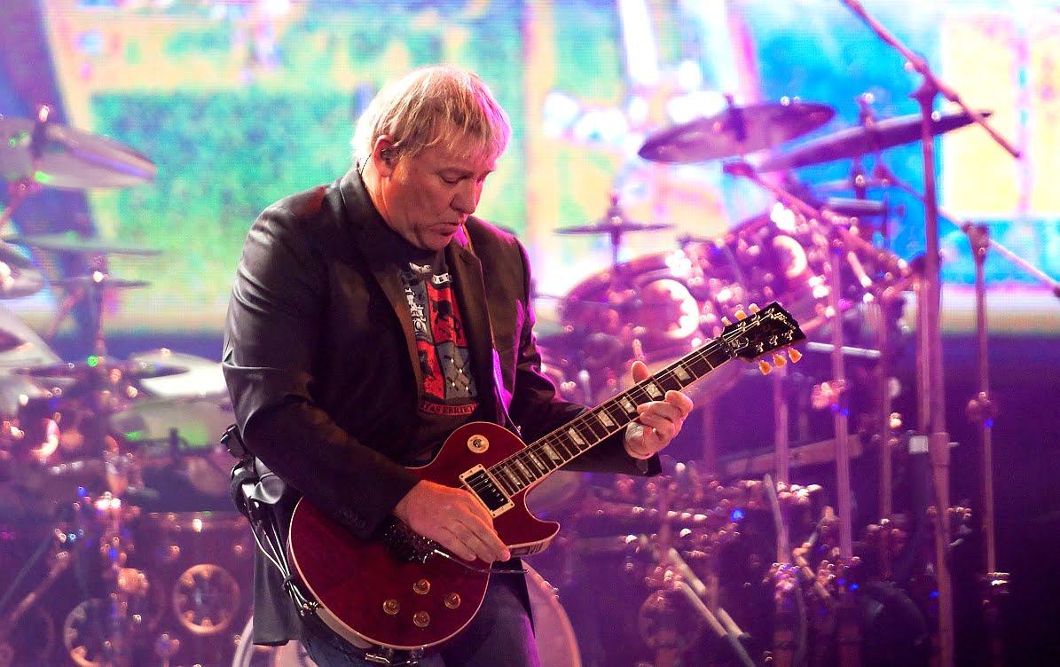 Alex Lifeson z Rush stracił motywację do gry na gitarze