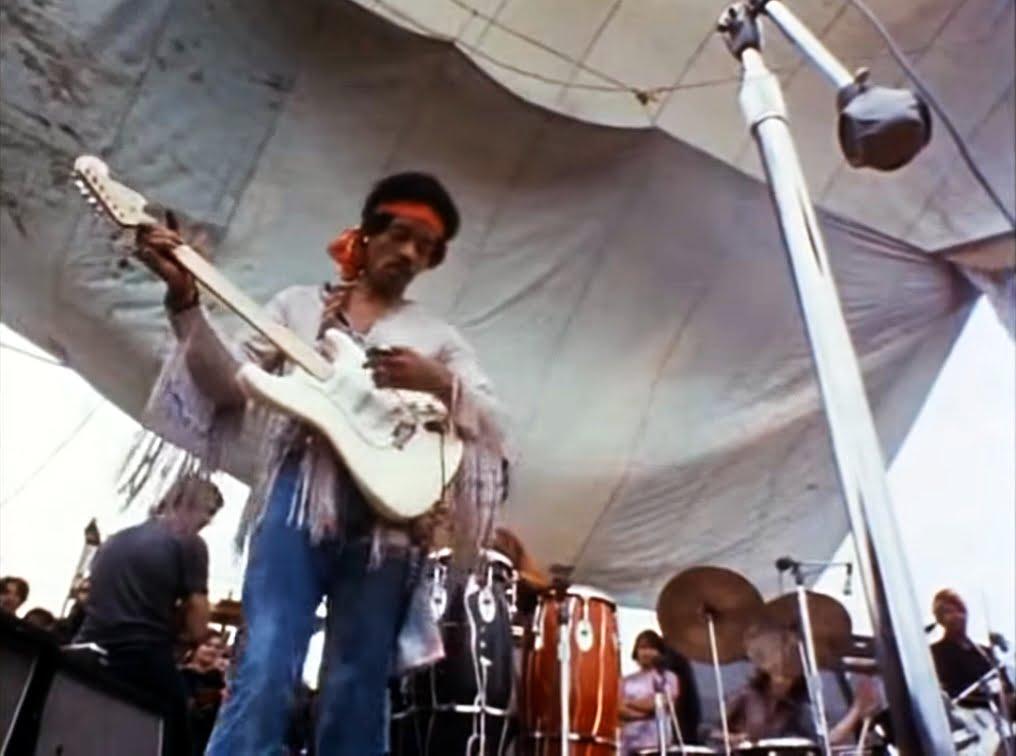 Jimi Hendrix na Woodstock 1969