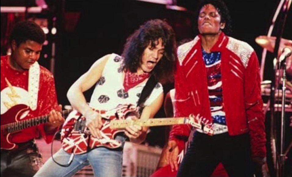 Eddie Van Halen i Michael Jackson