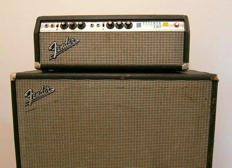 Fender Bassman Silverface AB 165