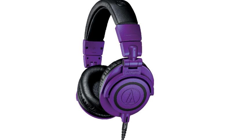 Audio-Technica ATH-M50xPB – limitowana wersja słuchawek studyjnych