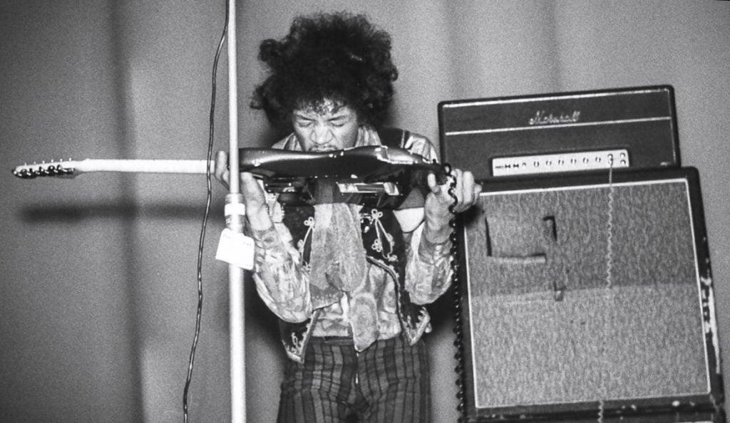 Jimi Hendrix, fot. Wikipedia na licencji CC
