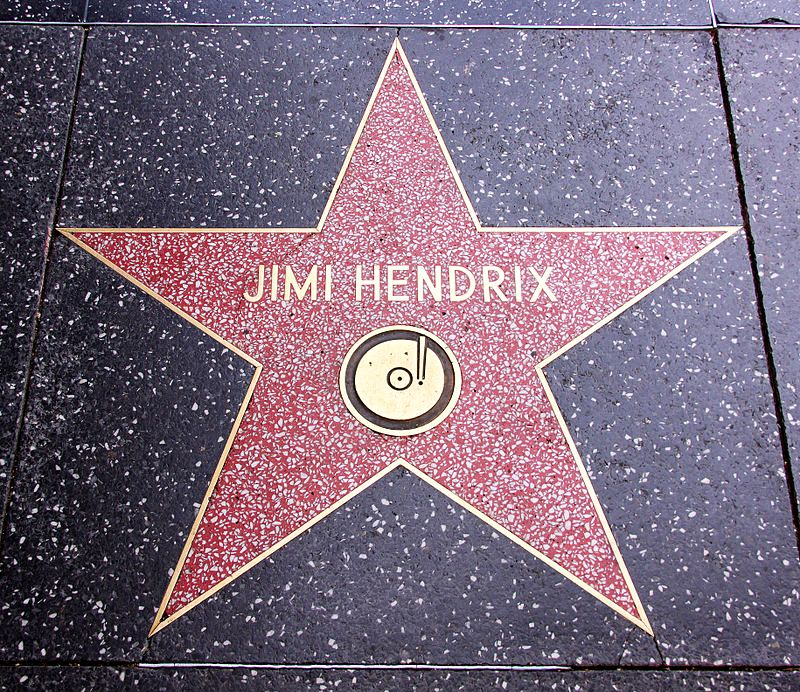 Gwiazda Jimiego Hendrixa na Walk of Fame