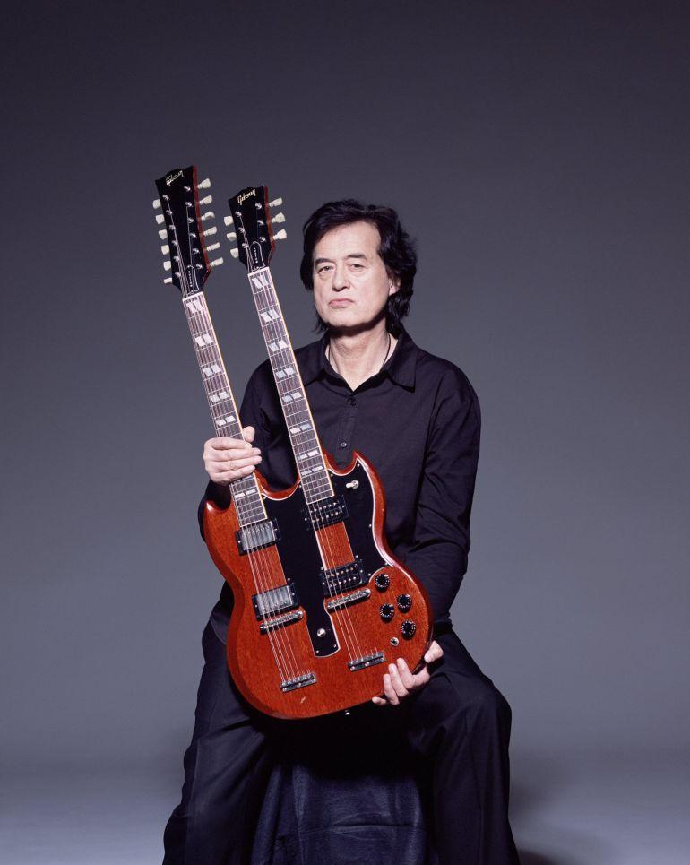 Gibson EDS-1275 w rękach Jimmiego Page'a