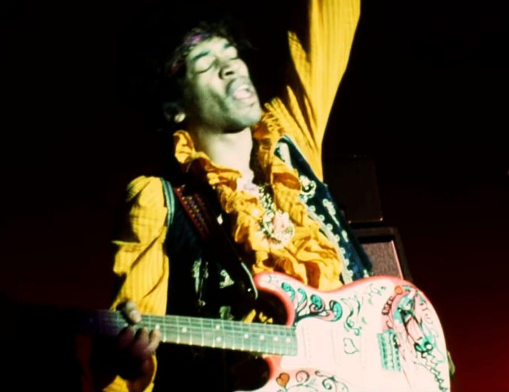 Jimi Hendrix at Monterey, fot YouTube