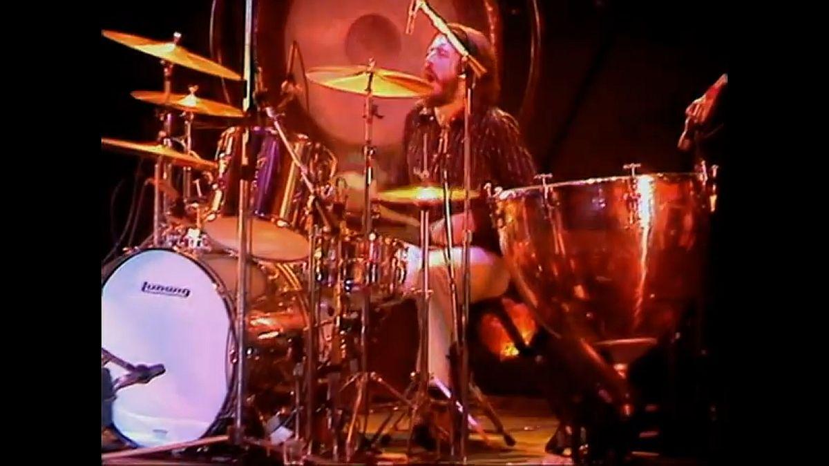 """John Bonham z Led Zeppelin – solo w utworze """"Moby Dick"""""""