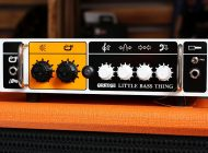 Orange Little Bass Thing + Orange OBC 112 - test zestawu