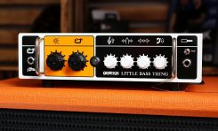 Orange Little Bass Thing + Orange OBC 112 - test zestawu