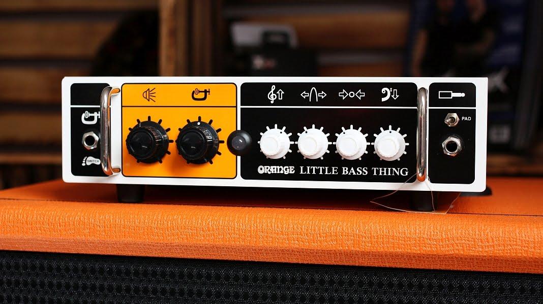 Orange Little Bass Thing + Orange OBC 112 – test zestawu
