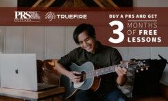 PRS Guitars i darmowe lekcje w TrueFire