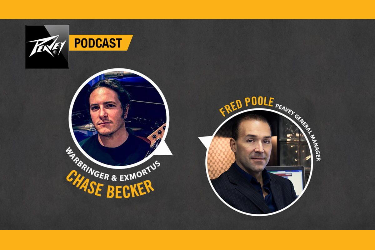 "Chase Becker gościem podcastu ""Peavey Monitor"""