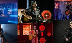 Artyści Gibsona podczas gali ACM Awards w Nashville