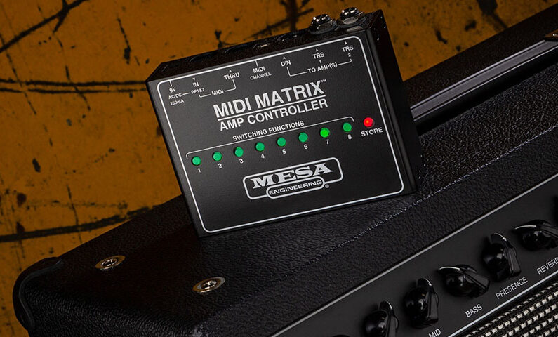 MESA/Boogie MIDI Matrix – kontroler/przełącznik dla wzmacniaczy