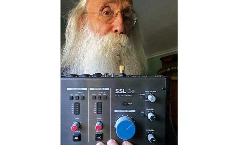 Leland Sklar nagrywa z interfejsem SSL 2+
