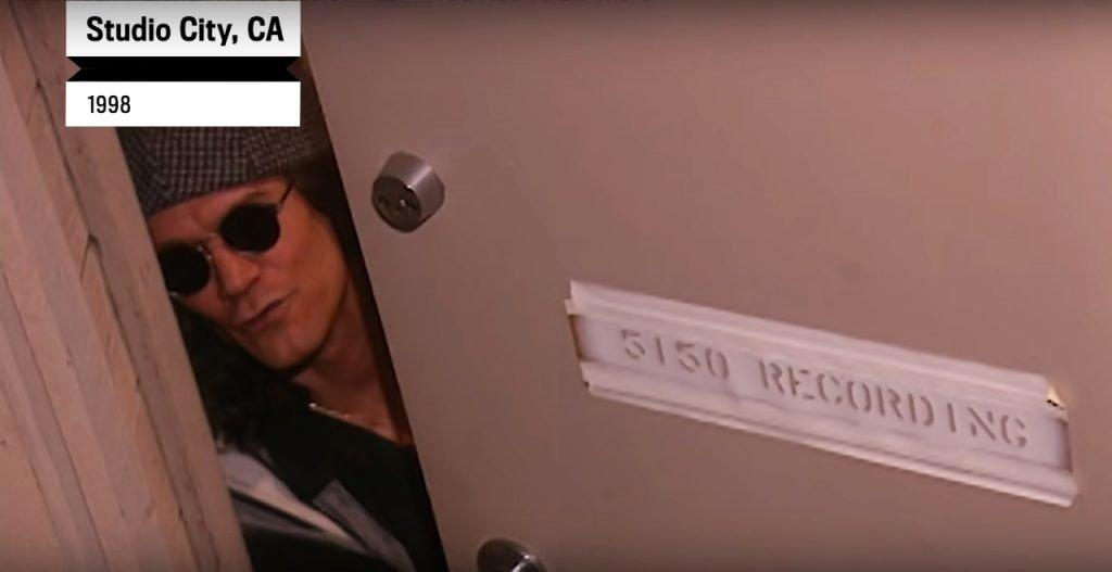 Eddie Van Halen otwiera drzwi 5150 Studio