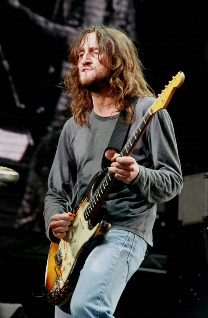 John Frusciante, fot. Wikipedia na licencji CC