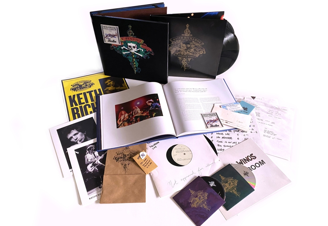 """Keith Richards And The X-Pensive Winos """"Live at the Hollywood Palladium"""" – reedycja"""