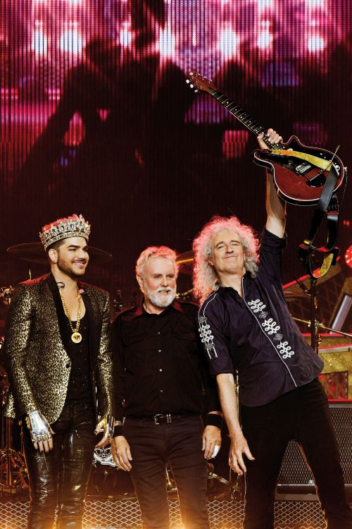 Queen + Adam Lambert - Brussels 2016 Group - Credit Xavier Vila - Copyright Miracle Productions LLP