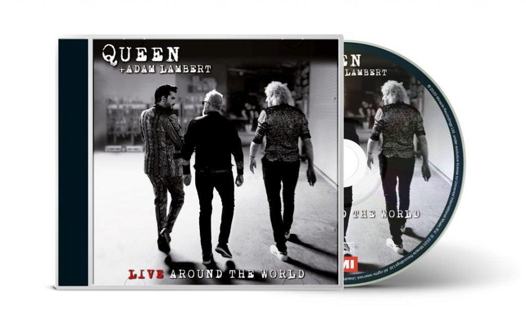 Queen + Adam Lambert - Live Around The World - 3D 1CD