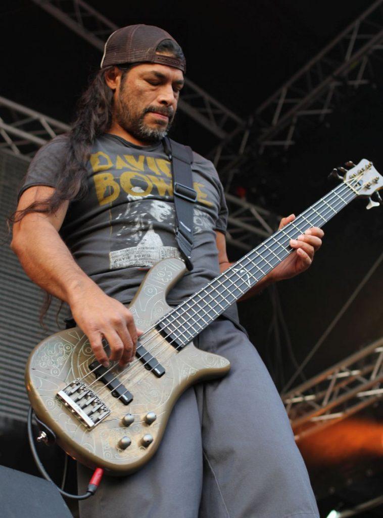 Robert Trujillo, fot. Maciej Warda