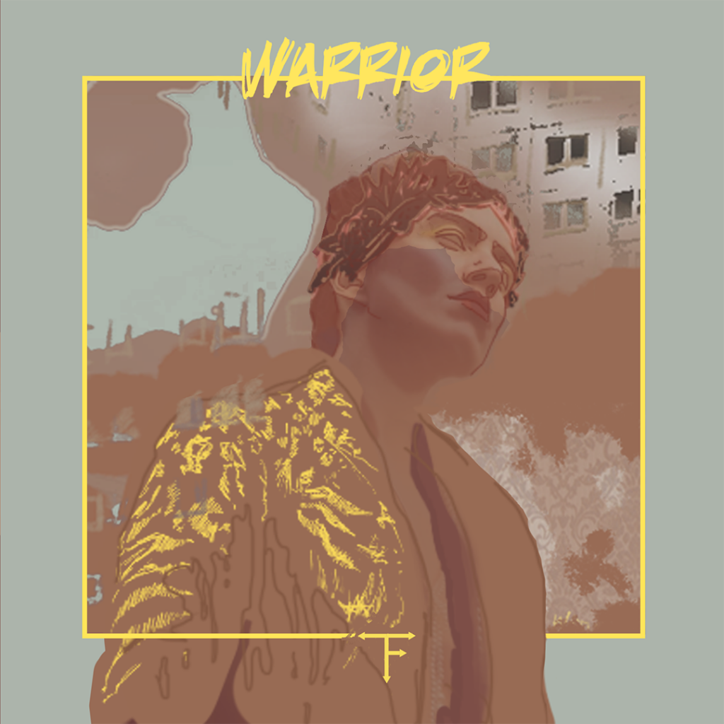 The Freuders - Warrior (LP) 2020_cover