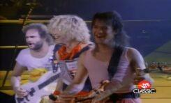 Van Halen na scenie - sama radość!