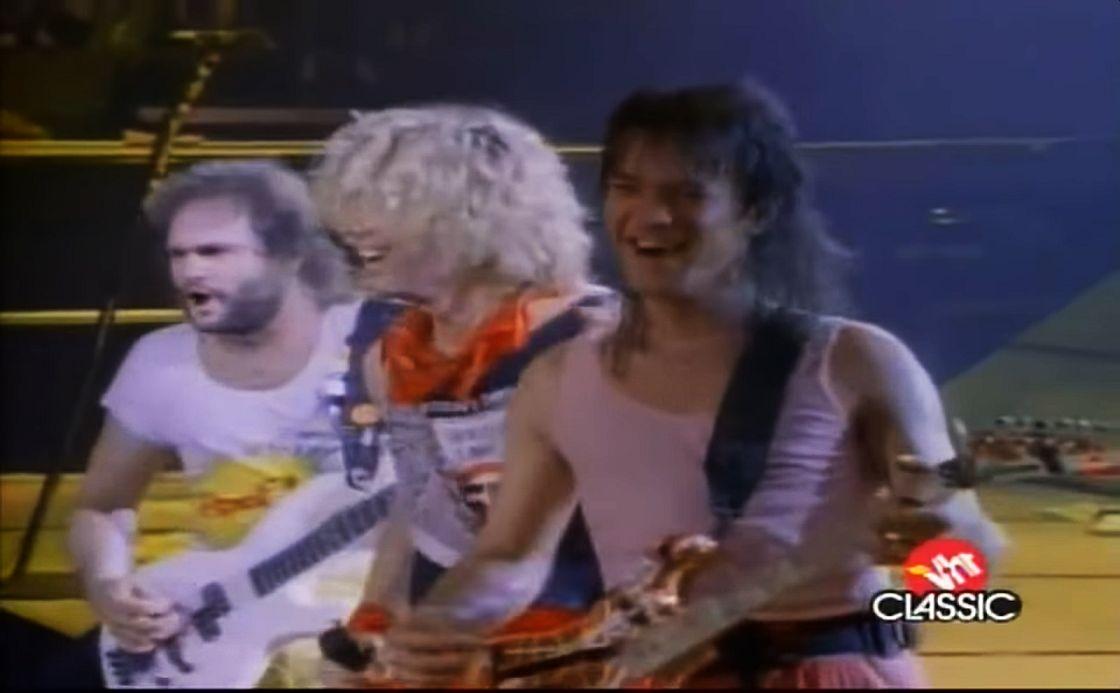 Van Halen na scenie – sama radość!