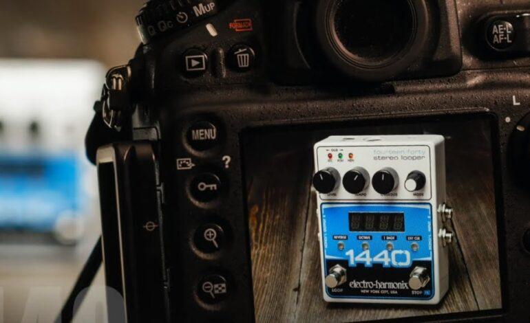 Electro-Harmonix 1440 Stereo Looper - pomoże przetrwać pandemię