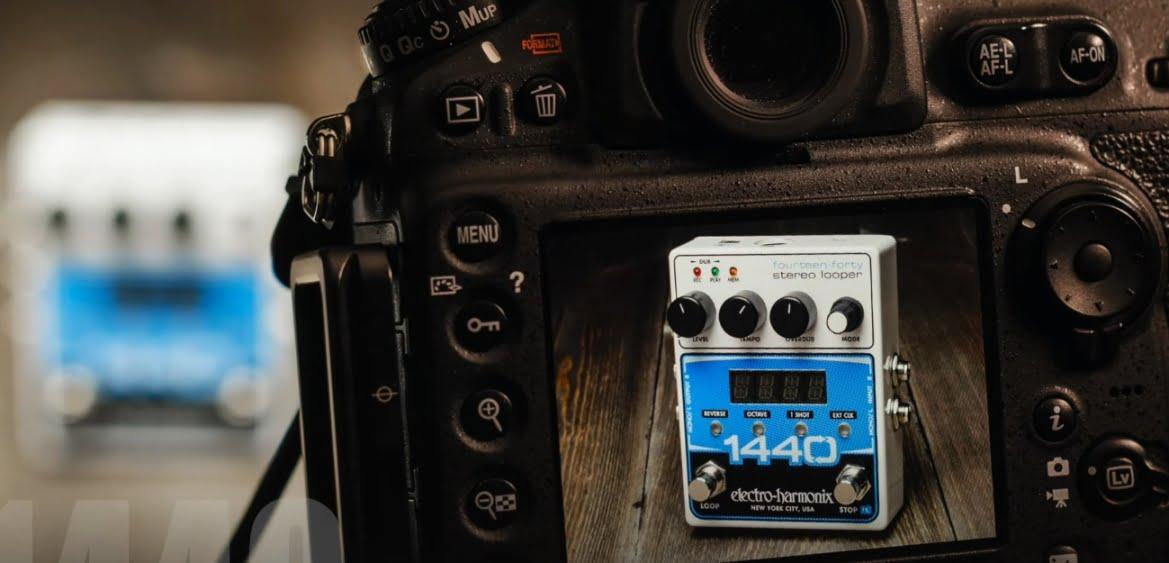 Electro-Harmonix 1440 Stereo Looper – pomoże przetrwać pandemię